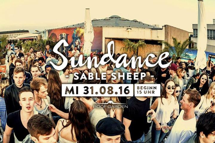 Sundance mit Sable Sheep